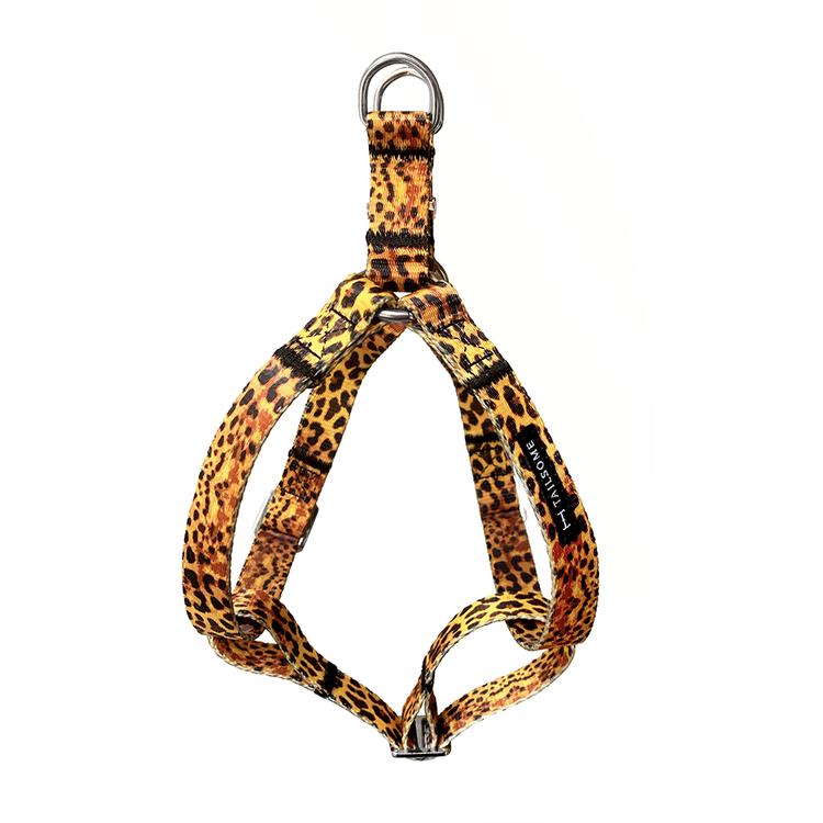 Hundsele i leopardmönster