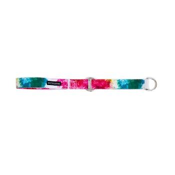Halsband Halvstryp Tyg Färgglad Rosa