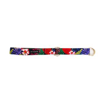 Halsband Halvstryp Tyg Blommor