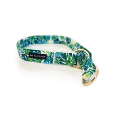 Halsband Halvstryp Tyg Monstera Grön