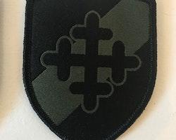 Tygmärke med kardborre 231.IK