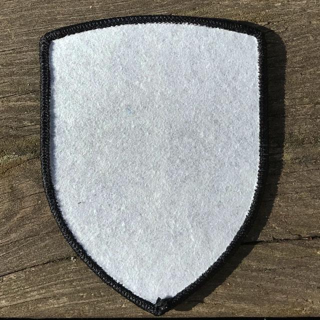 Tygmärke SewOn Mörkgrön 231.IK baksida