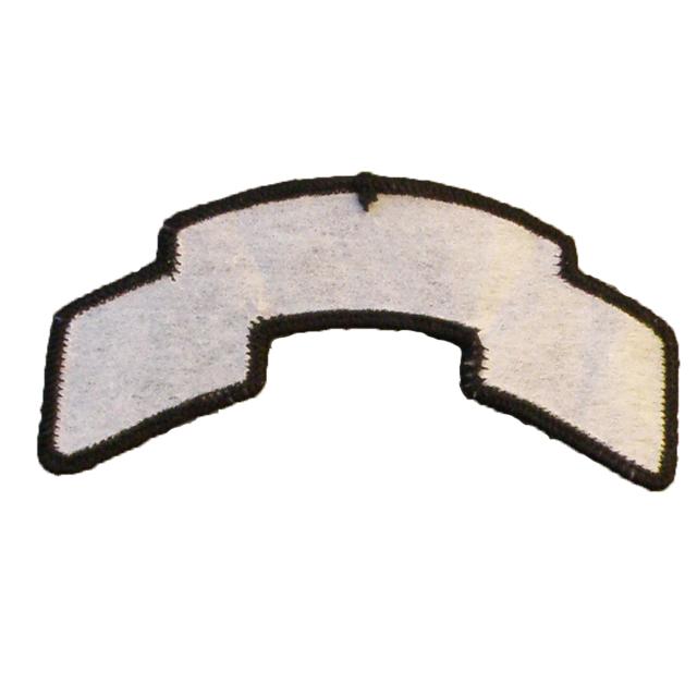 Backside of a HV-UND Scroll Patch.