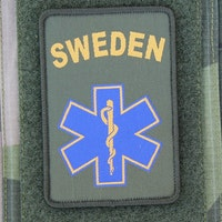 SWE MEDIC Star Hook Patch