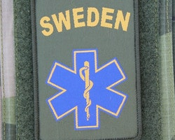 SWE MEDIC Star Hook Patch