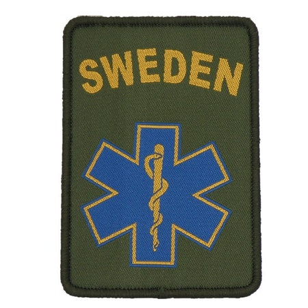 SWE MEDIC Star Hook Patch.