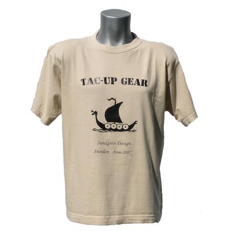 T-Shirt Tan TUG front photo.