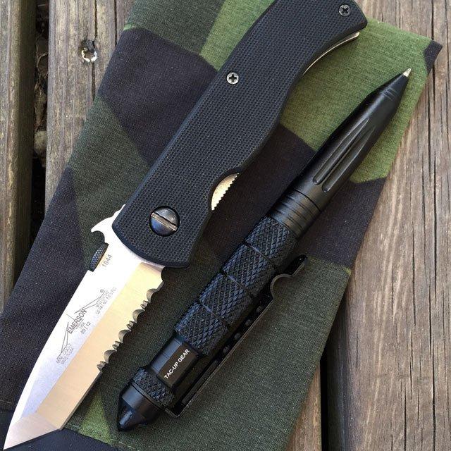 Pen Tactical Black.