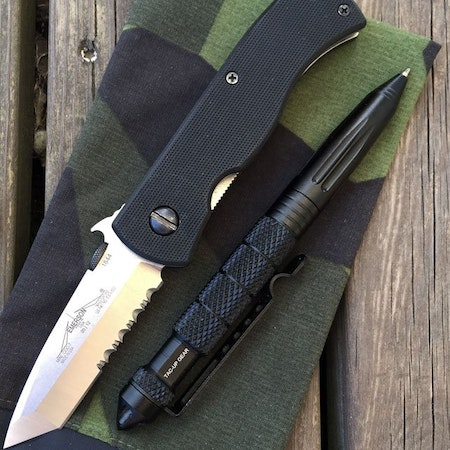 Pen Tactical Black.