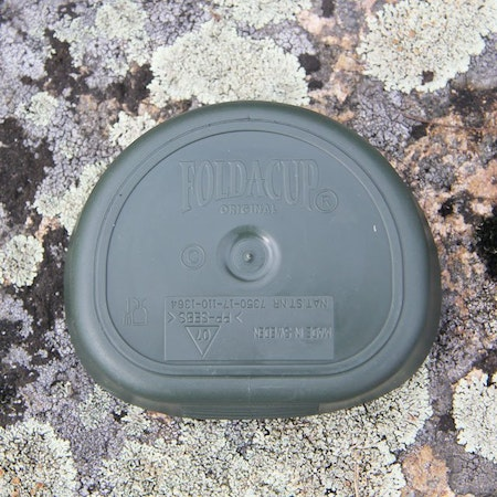 Bottom product picture of Folding Cup JÄGARE Green/Black/Green.