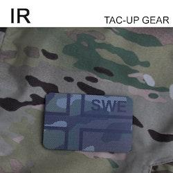 IR - SWE Flagga Dual IFF Multicam