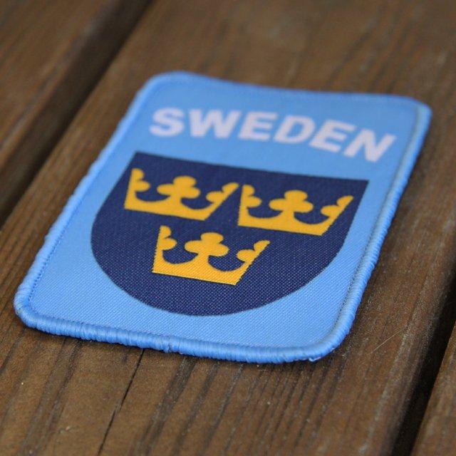 Sweden Hook Patch UN Blue.