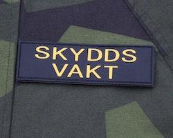 Skyddsvakt PVC Avlång Kardborremärke