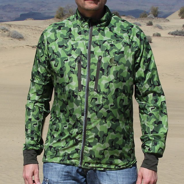 Running Jacket M90 MI full front picture.