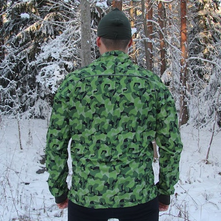 Camouflage fabric on the back of a Running Jacket M90 MI.