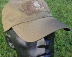 Tactical Baseball Cap Coyote Brown with Viking ship