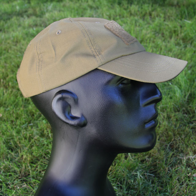 Side view of a Baseball Cap Coyote.
