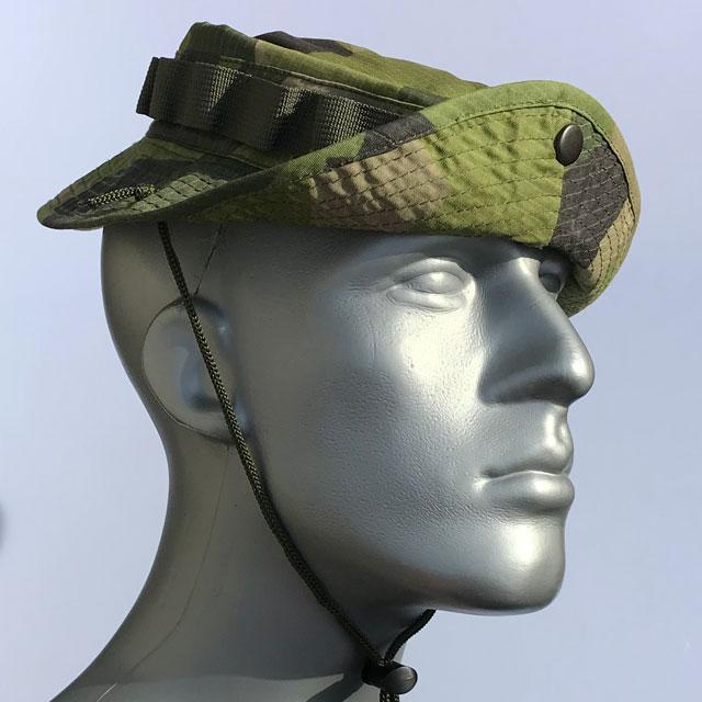 Navy Seal way to wear the brim on a Boonie Hat M90.