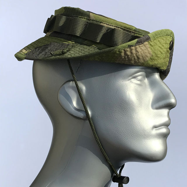 Navy Seal or Pirate way to wear the brim on a Boonie Hat M90.