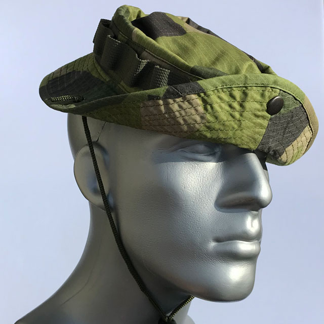Navy Seal slanted brim on a Boonie Hat M90.