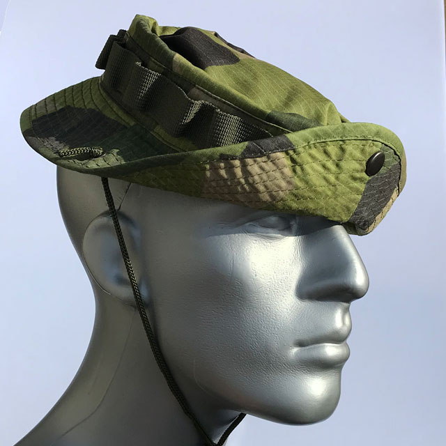 Ready for Jungle wearing a Boonie Hat M90.