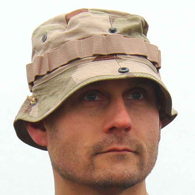Frontview of the Boonie Hat M90K Desert.