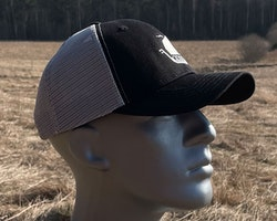 Mesh Cap Black and Grey