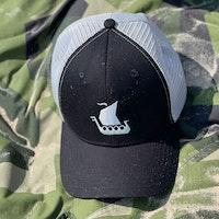 Mesh Cap Black and Grey