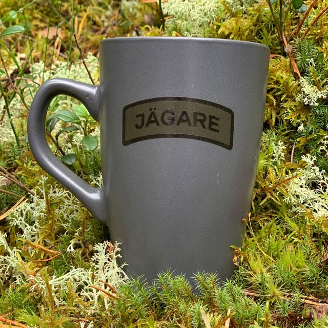 Kaffemugg JÄGARE Grey