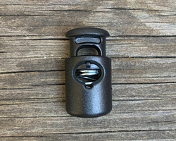 Cord Lock Shiny Black