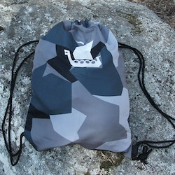 Drawstring Sports Bag M90 Grey