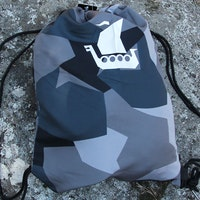 Drawstring Sports Bag M90 Grey