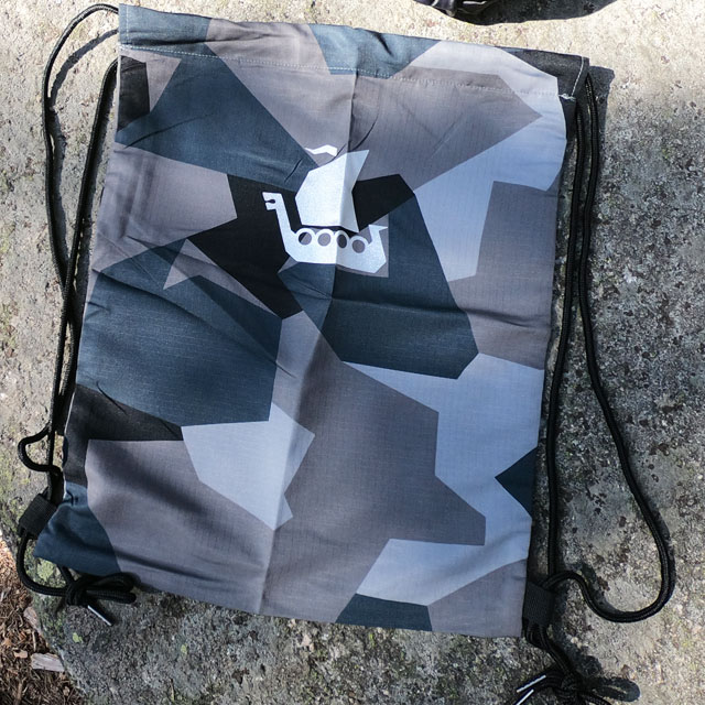 Pack your sportsgear in a Drawstring Sports Bag M90 Grey