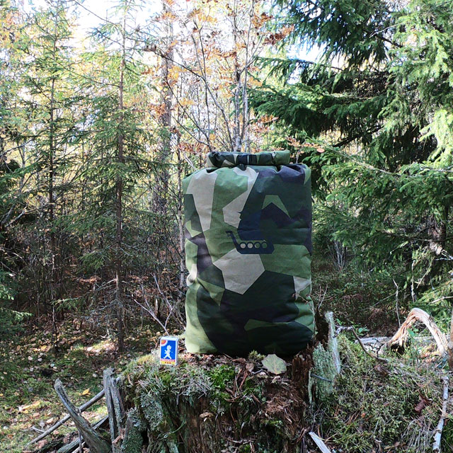 Tac-Up Gear M90 Dry Sack Large in M90 camouflage