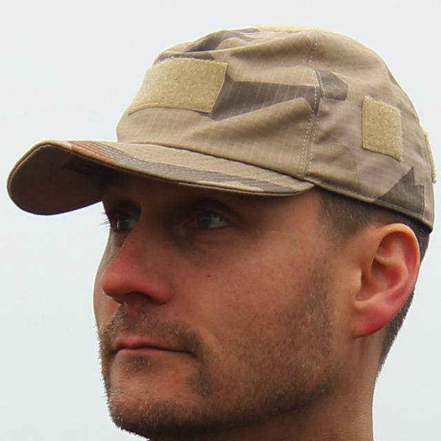 Closer look of a Field Cap M90K Desert.
