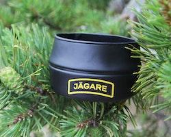 Folding Cup JÄGARE Black/Yellow/Black