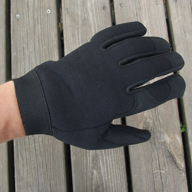 DZ Glove Black upper.
