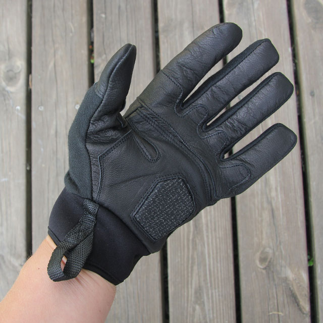 Palm area of OPPO Tactical glove.