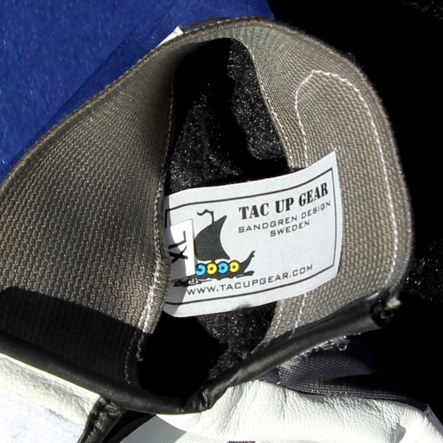 Permafrost Glove label and opening.