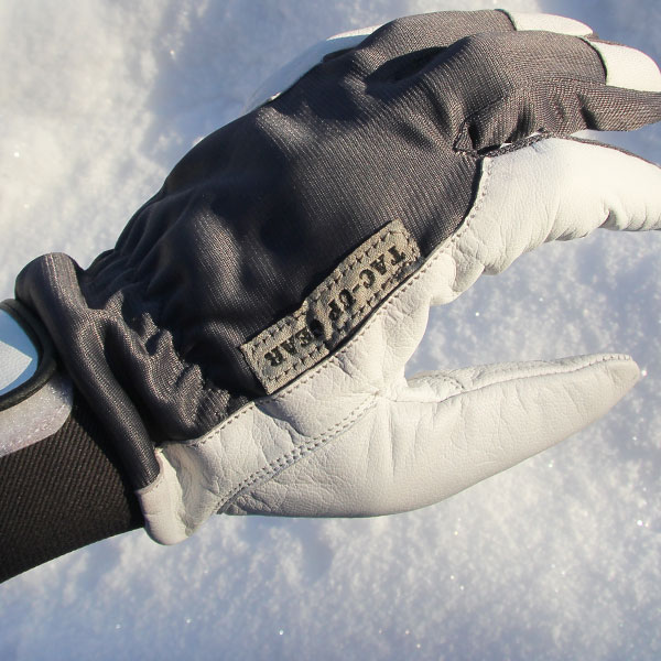 Tac-Up Gear logo text on a Permafrost Glove.