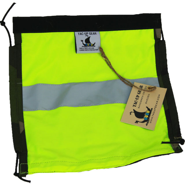 Goggle Cover M90 showing the hivis side