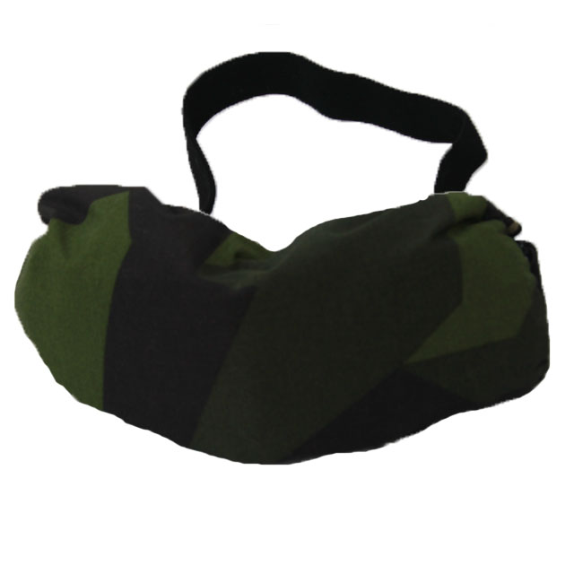 Goggle Cover M90 showing its excellent M90 camouflage.