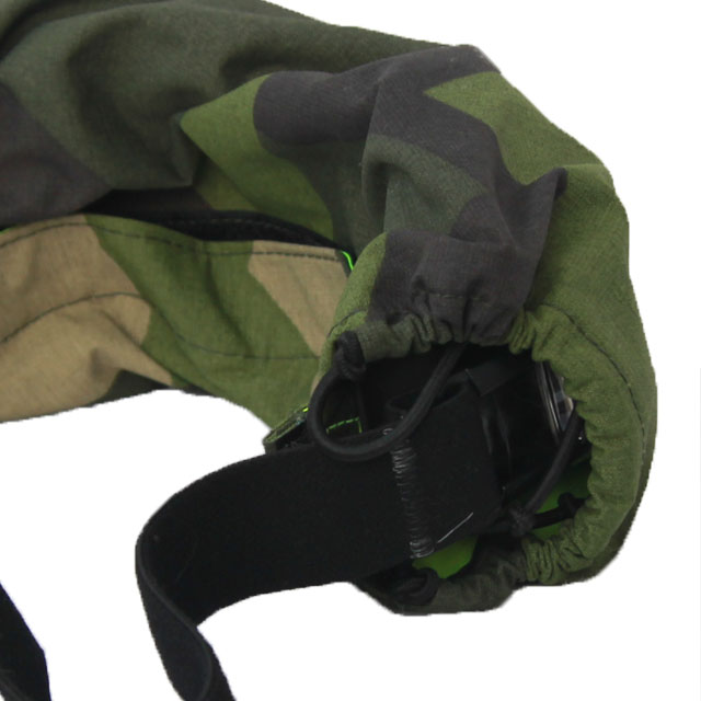 Side and back view of the Goggle Cover M90.