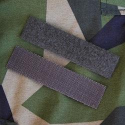 Kardborre Nametag Panel 12x3 Green Grey