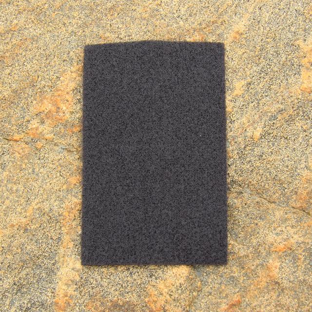 Kardborre Panel 9x14 Greyish Black.