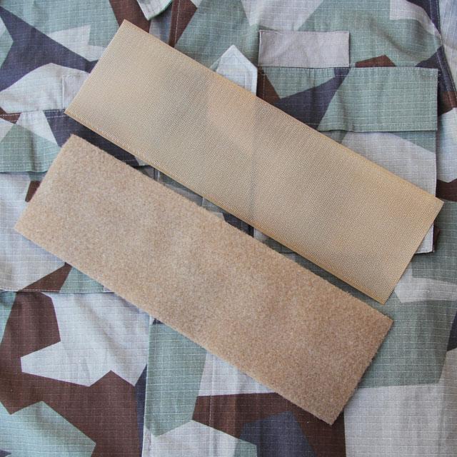 M90K Desert camouflage with Kardborre Panel Large Tan 10x33 on top.