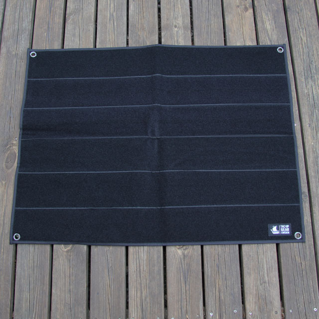 Kardborre Wall Mat Display Black.