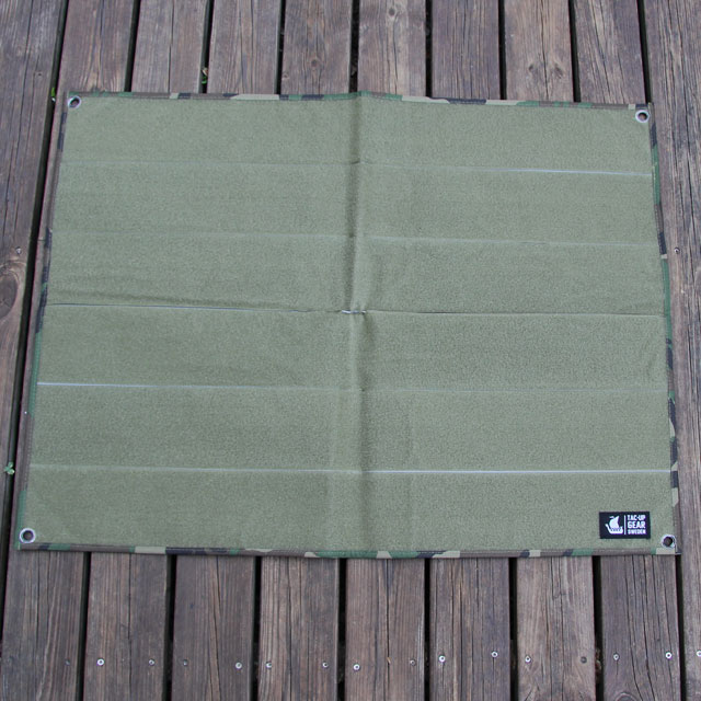 The Kardborre Wall Mat Display Green/Camo product photo.