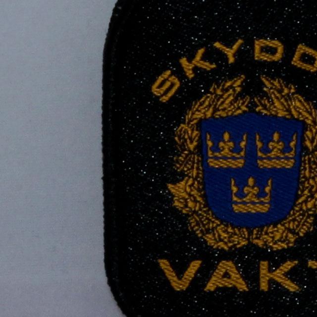 Närbild på en Skyddsvakt Nyckelring.