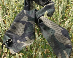 Mesh Scarf Forest